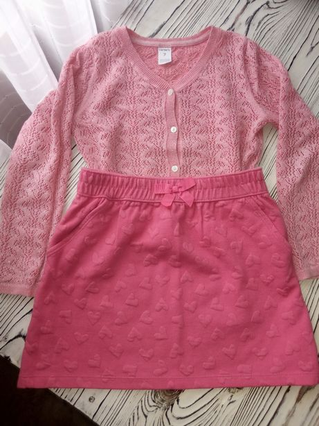 Набір кофта светр Carter's, юбка спідниця Gymboree