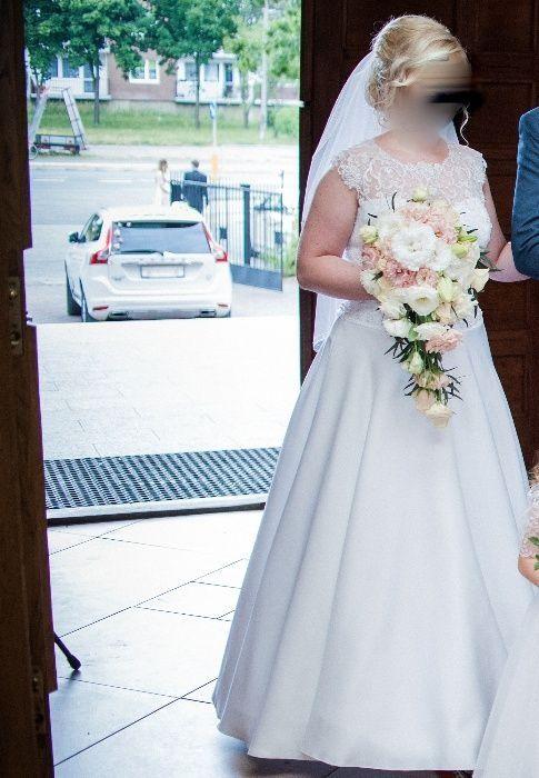 Suknia ślubna Mirella (producent Antra) + halka na kole Lublin - image 1