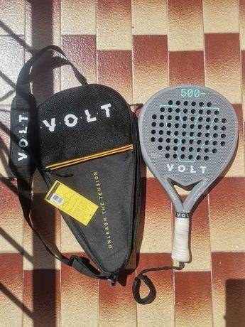 Raquete Padel  - Volt 500 cinza 2020