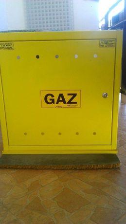 Skrzynka/szafka gazowa - blacha ocynkowana - z atestem