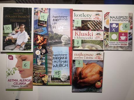 Przepisy kulinarne- różne książki, różne ceny