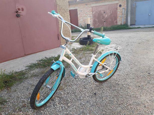 Велосипед детский для девочки crosser 20