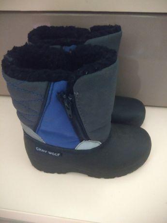 Зимние сапоги,ботинки 26 р