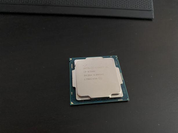 Процессор Intel i3 8350k