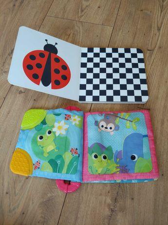 Ksiazeczki- Bright Starts i dla dzieci 3-6 miesiecy