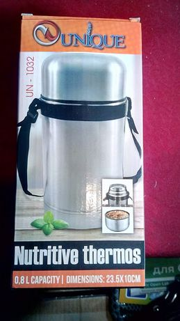 Термос вакуумный для еды (пищевой) 0.80л