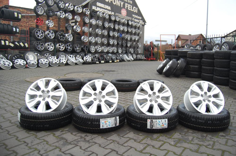 "Felgi aluminiowe AUDI 16"" 5x100 6"" ET30"