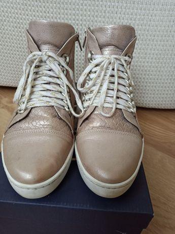 Sneakersy skórzane r.37