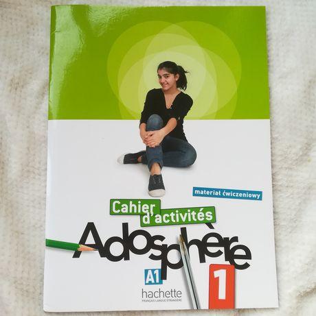 ćwiczenia do języka francuskiego Adosphere 1