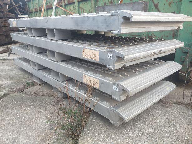 Najazdy aluminiowe nowe 56 ton zamiana MOTOCYKL faymonville broshuis