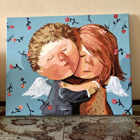 Картина ангелята