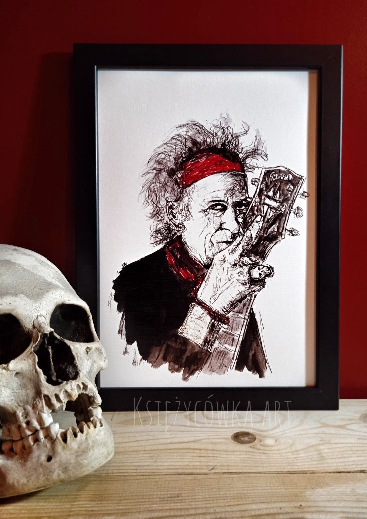 Keith Richards Rolling Stones blues rock Gibson