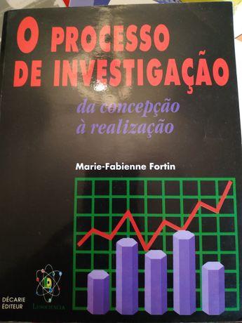 Livro O Processo de Investigação