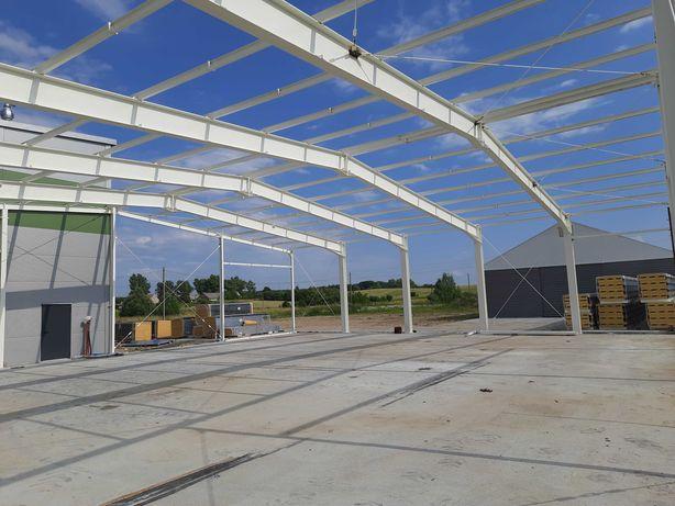 konstrukcja stalowa  hala wiata 25x30x5m PRODUCENT