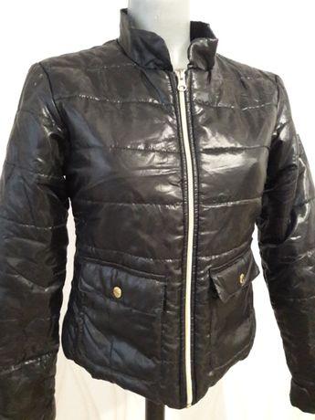 Красивая, невероятно модная курточка черного цвета glamor