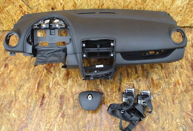 Renault Clio 4 tablier cintos airbags
