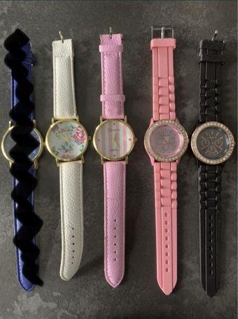Zegarki damskie różne, komplet