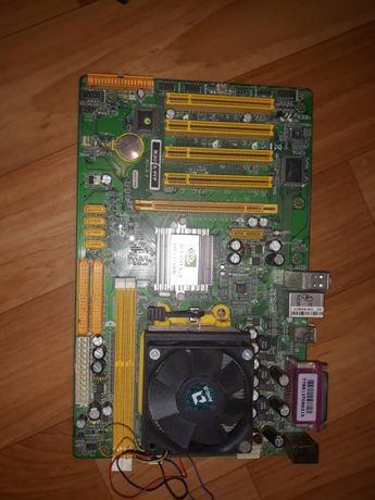 Продам Компьютерные детали мать с процессором амд атлон 4200+