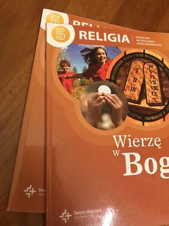"""""""Wierzę w Boga"""" - podręcznik do religii dla 5 klasy szkoły podstawowej"""