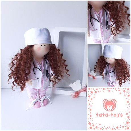 Куклы интерьерные, текстильные ручной работы