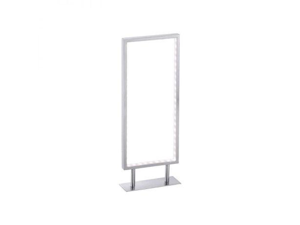 Lampka nocna biurkowa LED RAMKA Leuchten D. kwadrat minimalistyczna