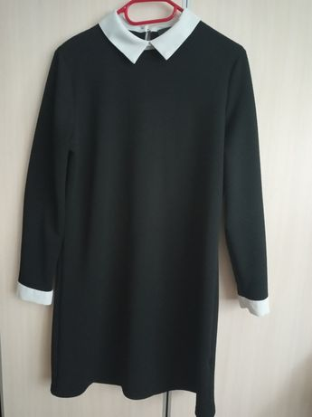 Elegancka sukienka z kołnierzykiem Primark