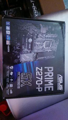 Материнская плата Asus Prime z270p с процом и озу