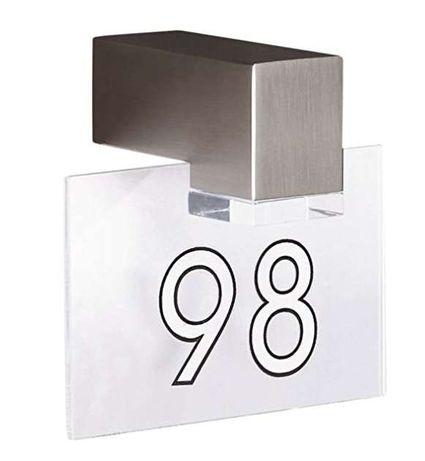 Aplique com LED para exterior Philips com número da porta