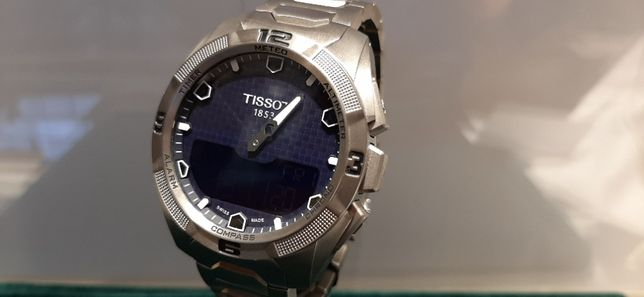 PROMOCJA Tissot T0914.2044.04100 T-Touch Expert Solar TITANIUM NOWY