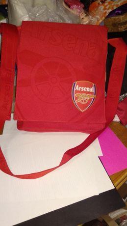школьный потфель сумка футбол арсенал длинная лямка Arsenal Football