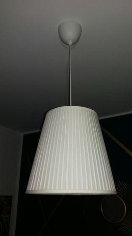 Lampa Ekas Ikea Abażur Klosz + oprawka z kablem