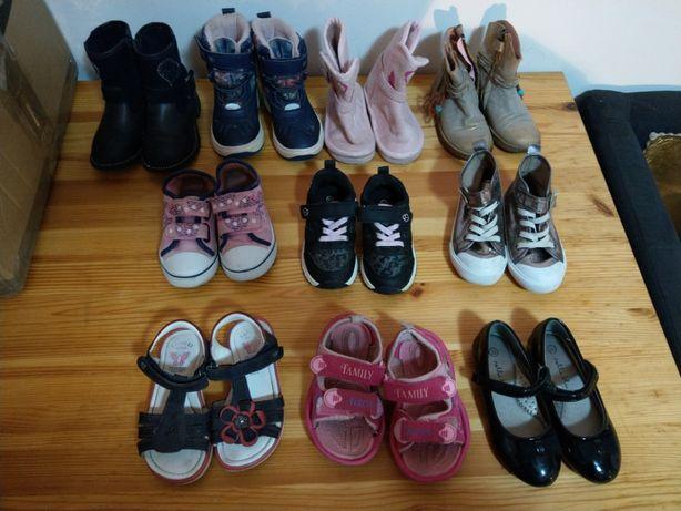 Buty, Buciki dla dziewczynki rozmiar 25-26