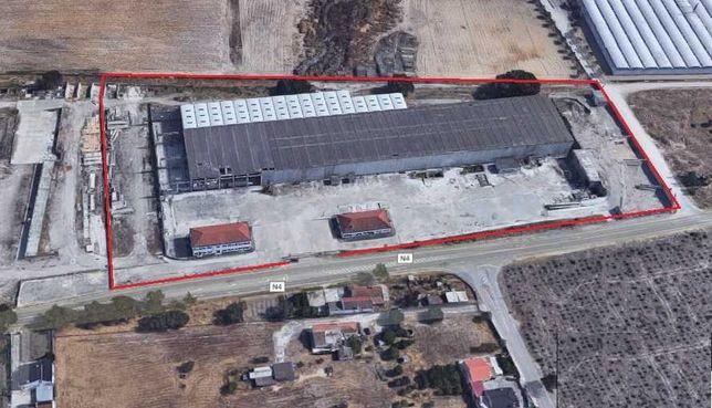 Armazém industrial com 7400 m2 - logradouro 22000 m2 - Alcochete