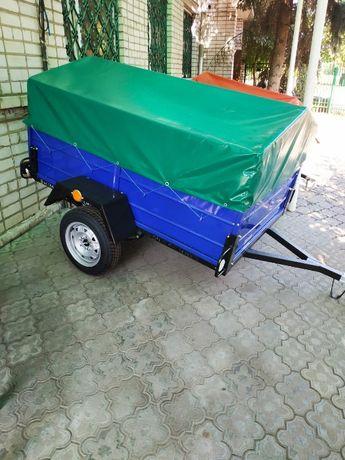 НОВЫЙ ПРИЦЕП Лев 2100*1300 к легковому авто в Рассрочку 2967 в месяц