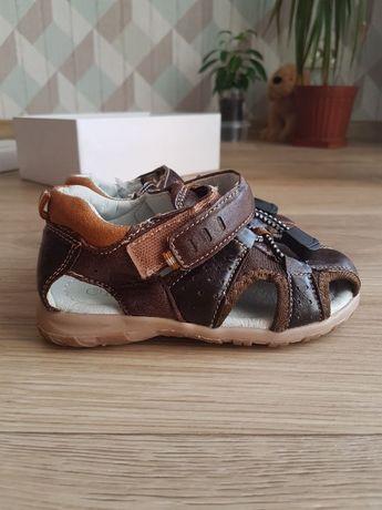 Бесплатная доставка. Детская новая обувь Сандалии кожаные ЕЕВВ ортопед