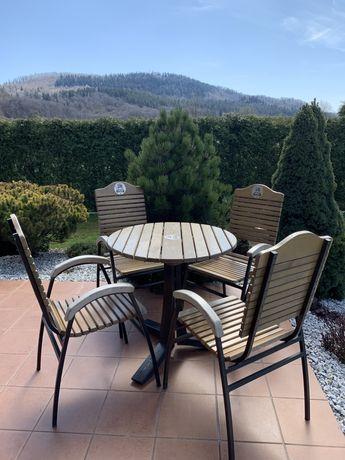 Zestaw ogrodowy, stolik i krzesła