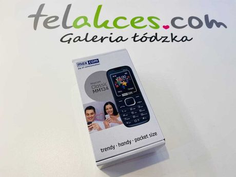 Maxcom Classic MM134 Telakces Galeria Łódzka Cena: 99zł