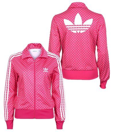 Bluza dresowa Adidas Originals Pink Firebird