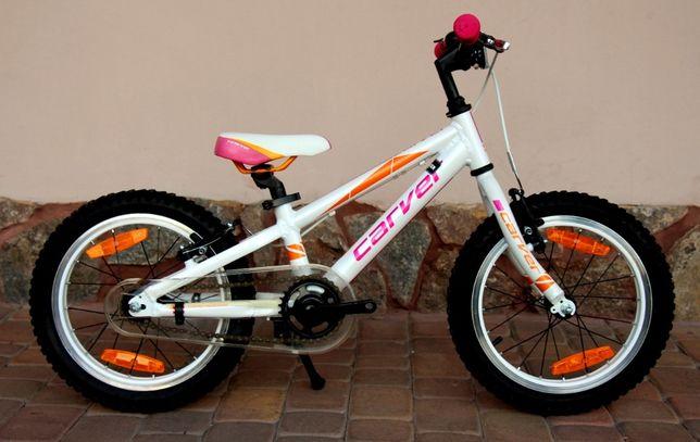 Carver Piękny rowerek dziewczęcy 16 cali rama alu stan jak nowy okazja