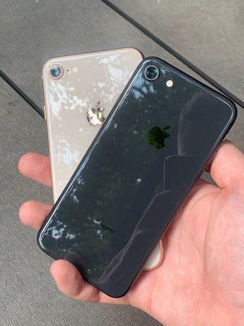 IPhone 8 64GB Оригинал , Неверлок , бу, Комплект , магазин