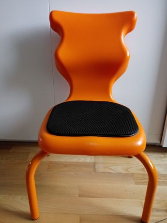 Entelo krzesło SPIDER SOFT rozm. 1 pomarańczowe - 93-116 cm