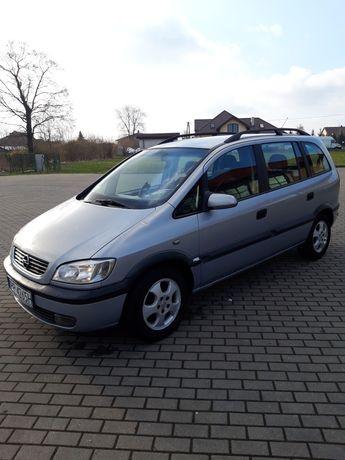 Opel Zafira 1.8 benzyna 1999r 7 miejsc klima alusy elektryka