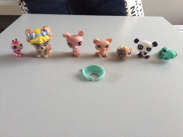 Zwierzaki little pet shop figurki