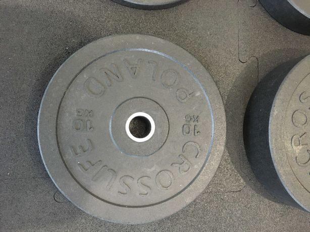 Talerz olimpijski, obciążenie na sztangę 10 kg
