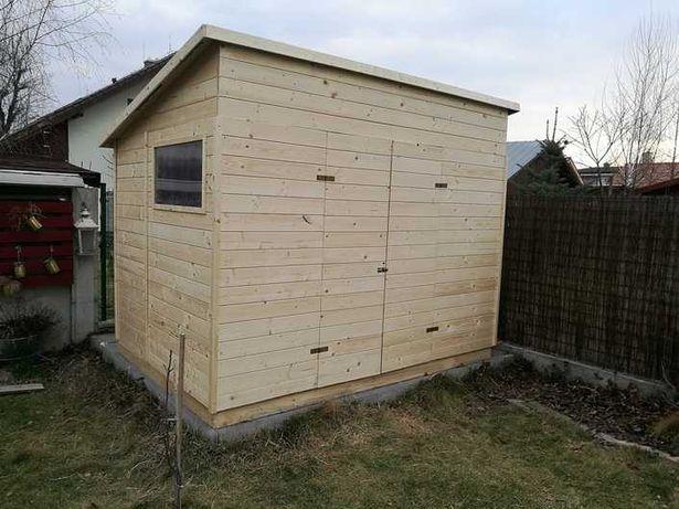 Деревянный сарай, хозблок, садовый дачный домик из дерева, бытовка