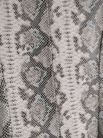 Nowa sukienka mohito wężowa S skóra węża