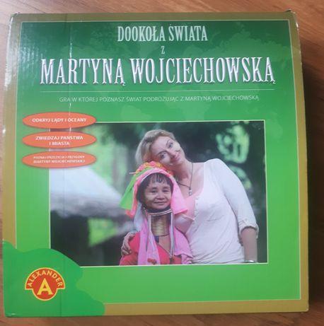 Gra rodzinna Dookoła świata z Martyną Wojciechowską 8+ nowa!