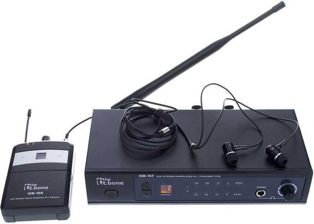 Sistema monição In-ear sem fios t.bone IEM 75 (2 unidades disponíveis)