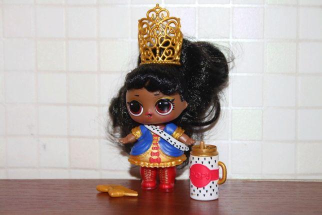 Кукла лол lol Hairgoals her majesty Её Величество меняет цвет королевп