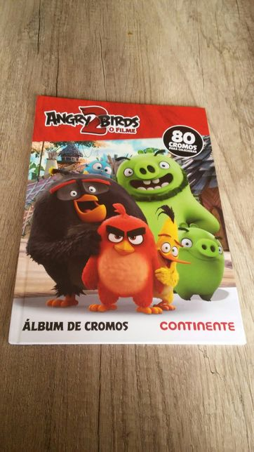 Álbum caderneta vazia Angry Birds 2 Continente cromos